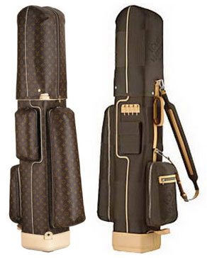 The $8,400 Louis Vuitton Golf Bag