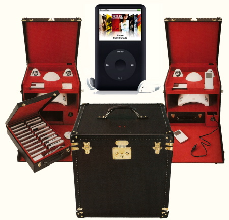 Louis Vuitton iPod trunk case for Karl Lagerfeld