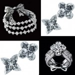 Louis Vuitton Les Ardentes flower monogram diamonds collection