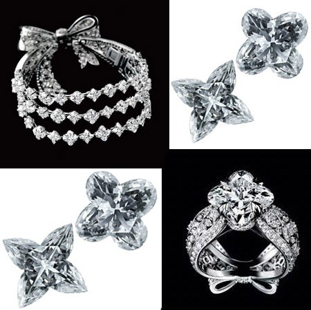 Louis Vuitton's Monogram Flowers Diamonds