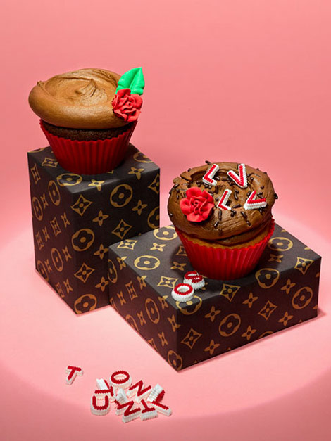 Louis Vuitton LV cupcakes