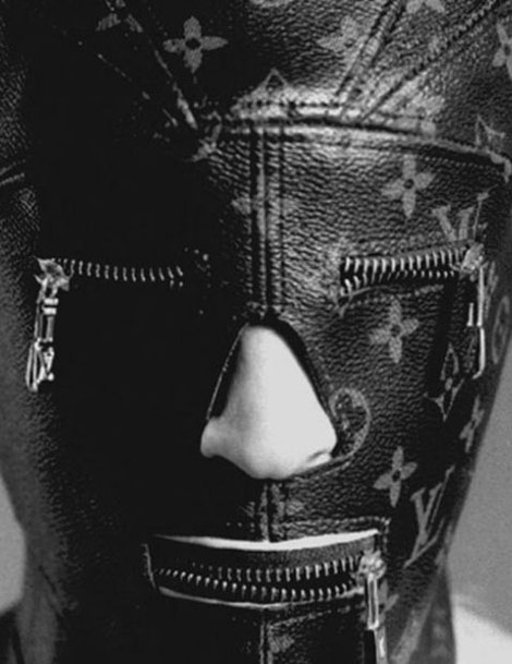 Louis Vuitton LV Monogram Gimp Mask