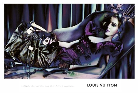 Louis Vuitton Madonna Fall 2009 2010 advertising