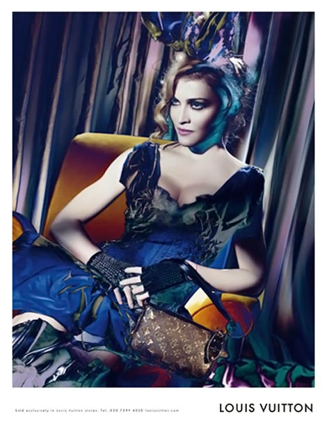 Louis Vuitton Madonna Fall Winter 2009 ad