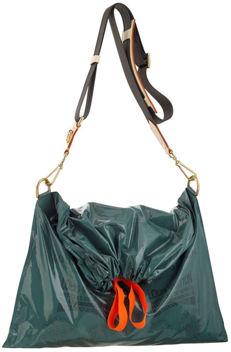 Louis Vuitton Raindrop Besace trash bag