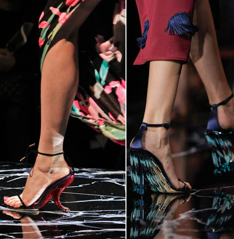 Louis Vuitton sandals summer 2011