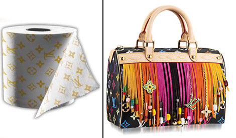 Louis Vuitton Toilet paper bag