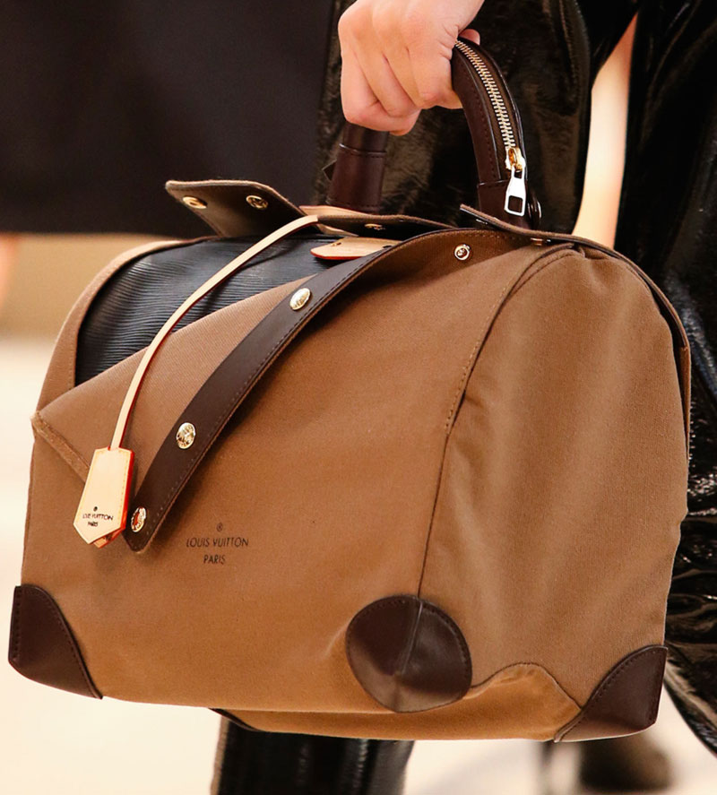 Louis Vuitton weekender bag Fall 2014