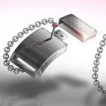 Louis Vuitton Usb Key White Gold