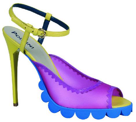 Louise Gray for Pollini Nicholas Kirkwood ss 11