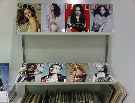 Love Four eight Covers stand