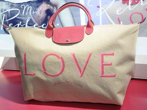 Love Longchamp Pliage bag