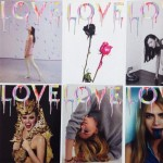 Love Magazine Spring Summer 2014 limited edition covers