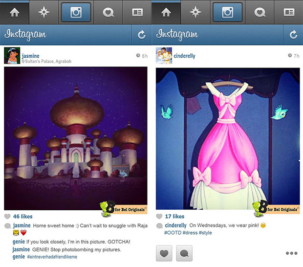 10 Unexpected Instagram Pictures From Disney Princesses