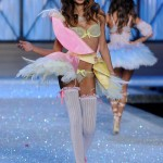 lovely Chanel Iman walks for Victoria s Secret