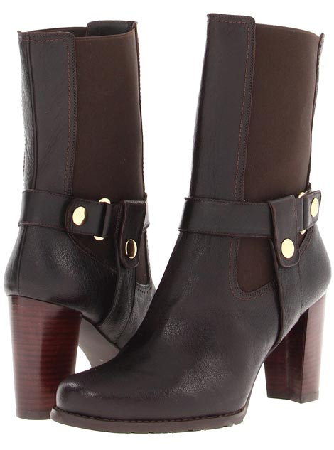lovely fall boots chelsea high heeled bootstrap Stuart Weitzman