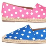 lovely fashionable summer shoes Valentino polka dots espadrilles