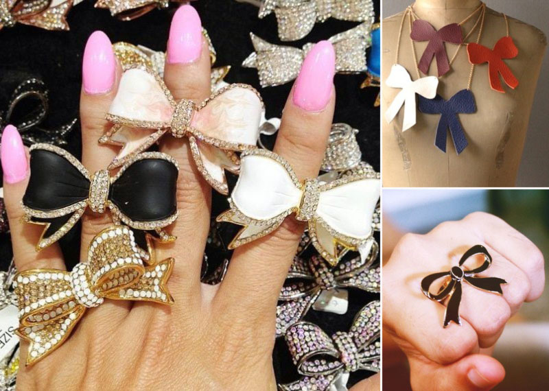 lovely ways to wear bows rings