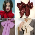 lovely ways to wear bows tie a scarf in a bow