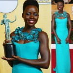 Lupita N YongO 2014 SAG Awards dress