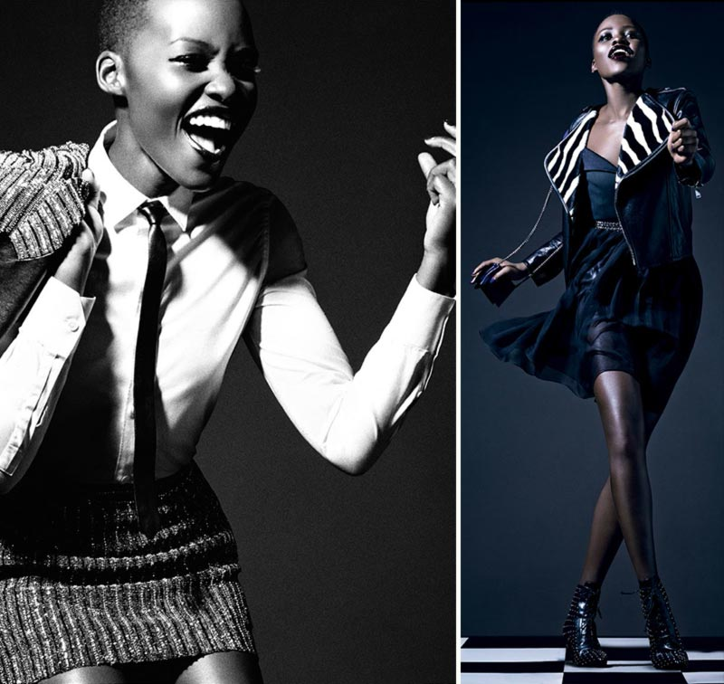 Lupita Nyongo fabulous Vogue Italia February 2014
