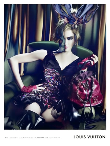 LV Madonna FW 2009 2010 ad campaign