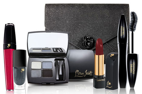 L Wren Scott Lancome makeup holiday collection