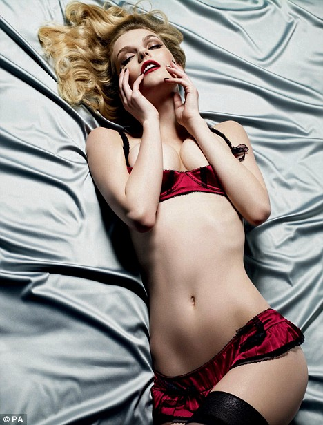 Lydia Hearst for Myla Lingerie Ad Campaign