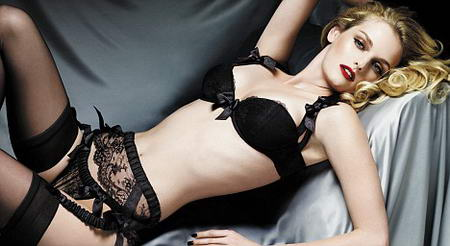 Lydia Hearst For Myla Lingerie