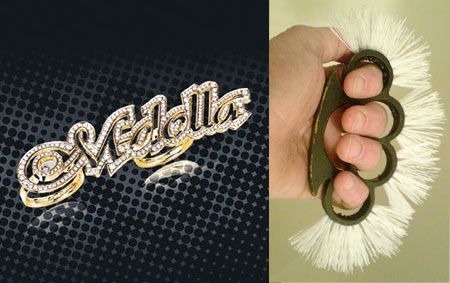M-Dolla Chopard Knuckle Ring Vs Ken Goldman s Knuckle Brush