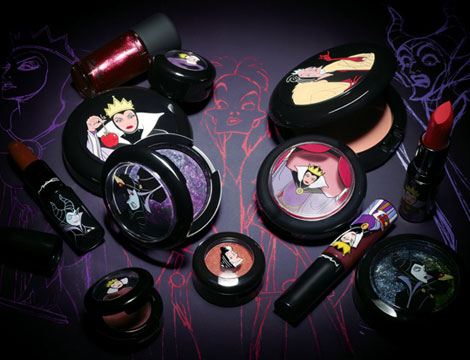 MAC venomous Villains Disney makeup collection