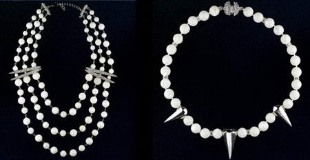 Madeherthink Pearl Necklaces