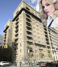 Madonna Cental Park West Apartment Building