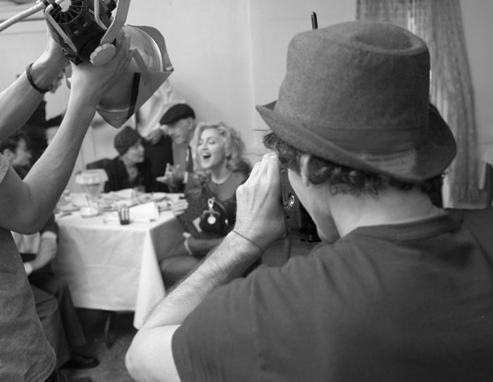 Madonna Dolce Gabbana ad campaign making of 1