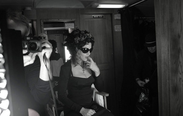 Madonna Dolce Gabbana ad campaign making of 5