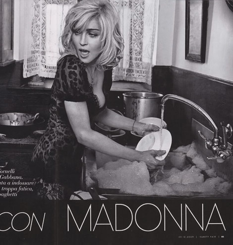 Madonna's Dolce And Gabbana Spring Summer 2010 Ad Campaign