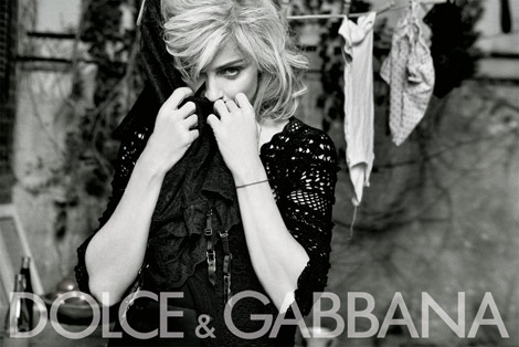Madonna For Dolce & Gabbana. More Images