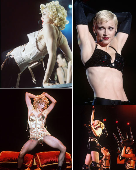 Madonna early concert