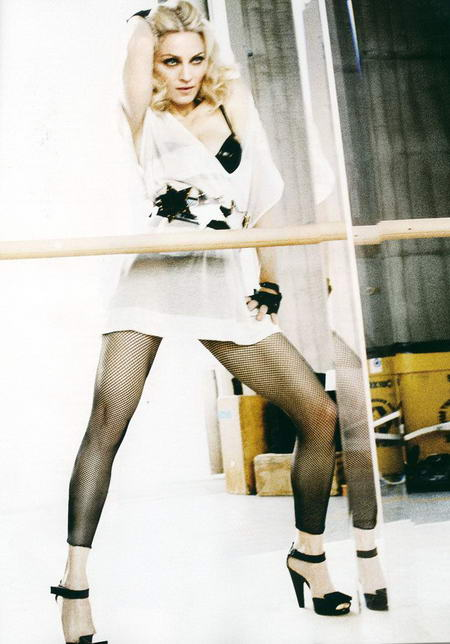 Madonna Elle Magazine UK Issue May 2008