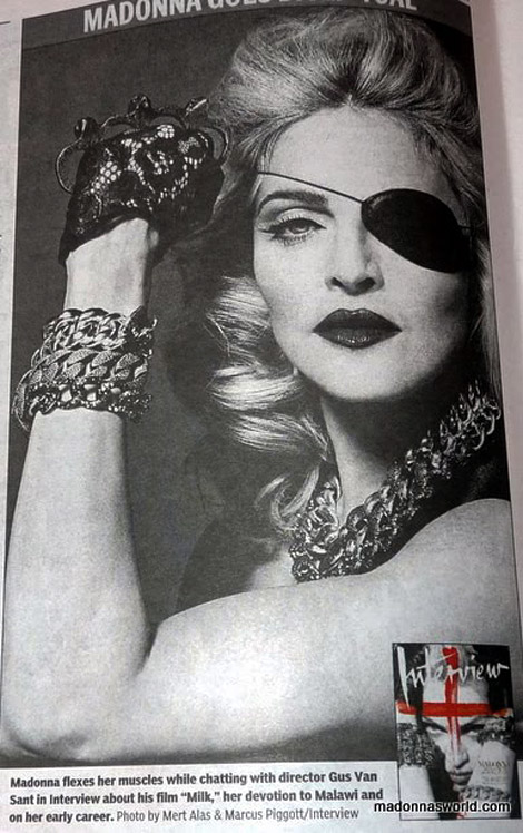Madonna's Interview May 2010