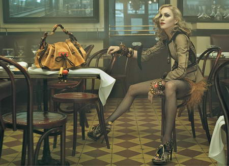 Madonna Louis Vuitton Ad Campaign Spring Summer 2009 picture
