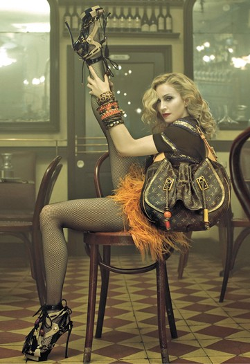 Madonna Louis Vuitton Ad Campaign Spring Summer 2009