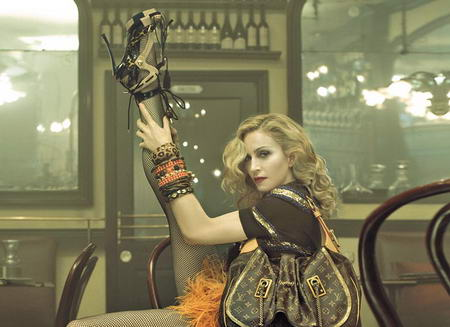 Madonna Louis Vuitton ads Spring Summer 2009