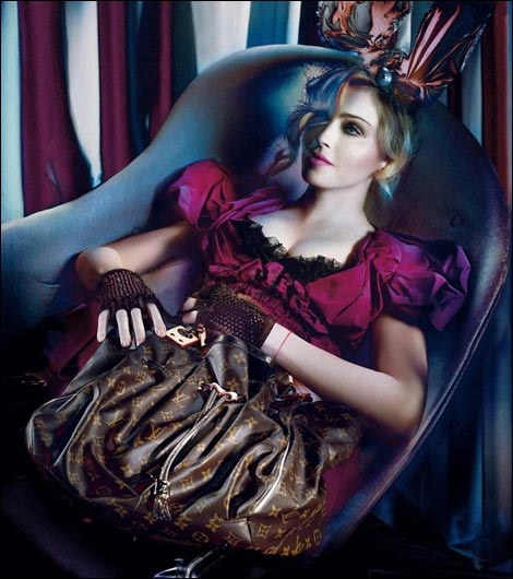 Madonna For Louis Vuitton Fall Winter 2009 2010 Ad Campaign