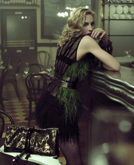 More Madonna For LV Spring Summer 2009!