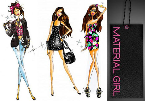 Madonna Lourdes Material Girl Collection