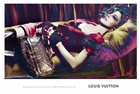 Louis Vuitton Ft Madonna Fall Winter 2009 2010 Ad Campaign Revealed