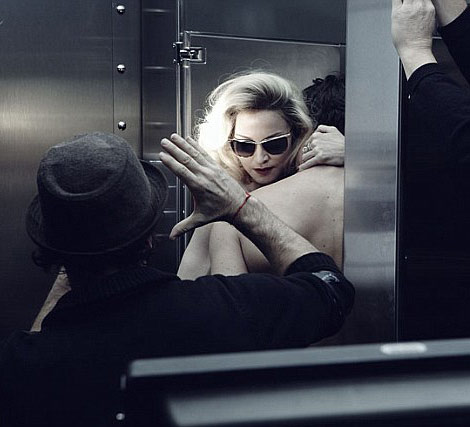 Madonna MDG Sunglasses advertising