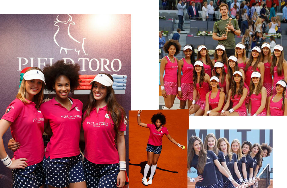 Madrid tennis open ball girls 2015