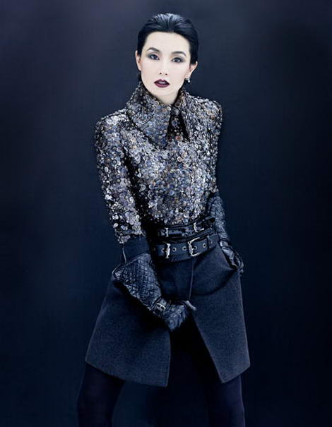Maggie Cheung AnOther Magazine fw 09
